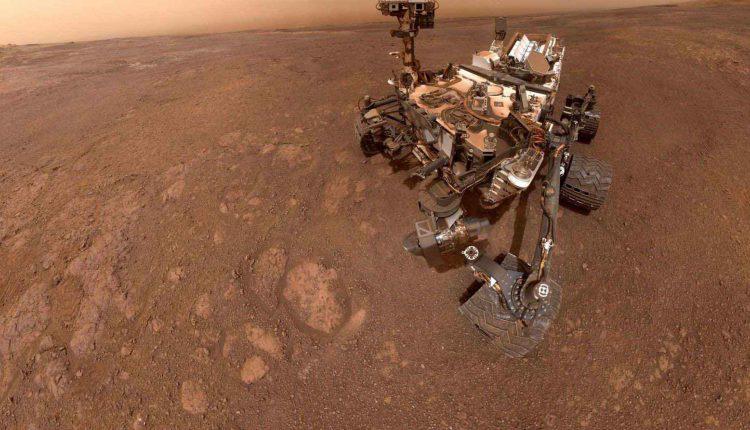 سلفیهای فوقالعاده زیبا کاوشگر Curiosity