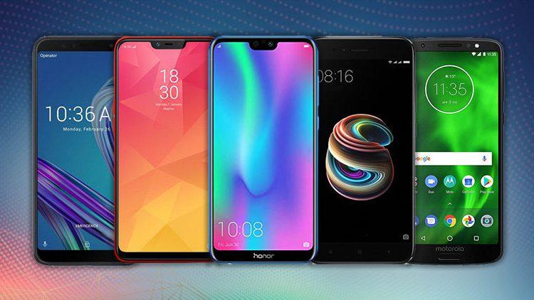 10 گوشی برتر دنیا 2019