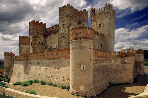 Castle of La Mota, Spain