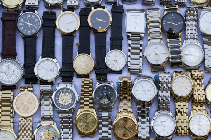 تشخیص ساعت اصل و کپی