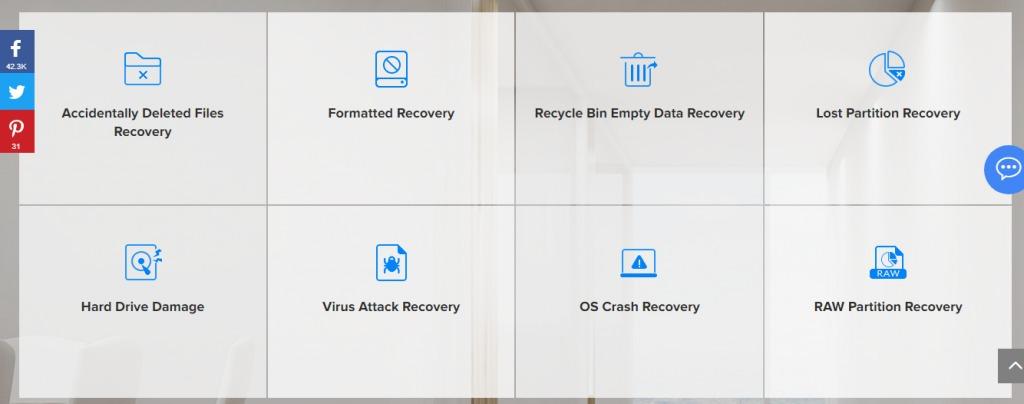 نرم افزار بازیابی فایل های پاک شده در ویندوز