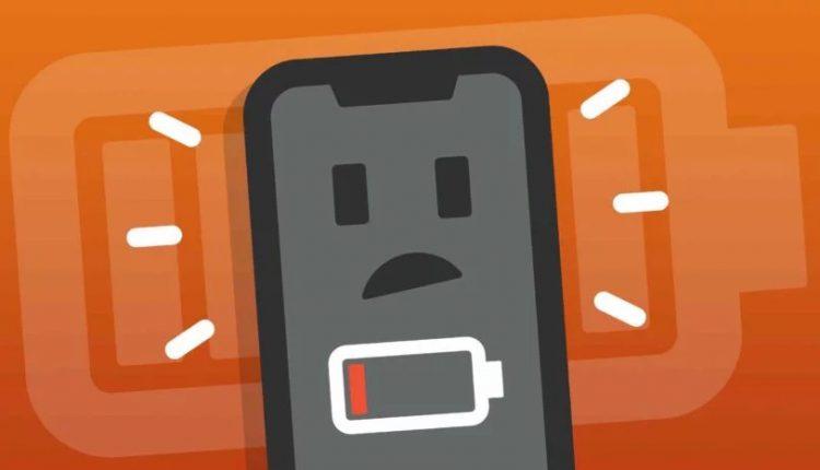 علت خالی شدن ناگهانی باتری گوشی