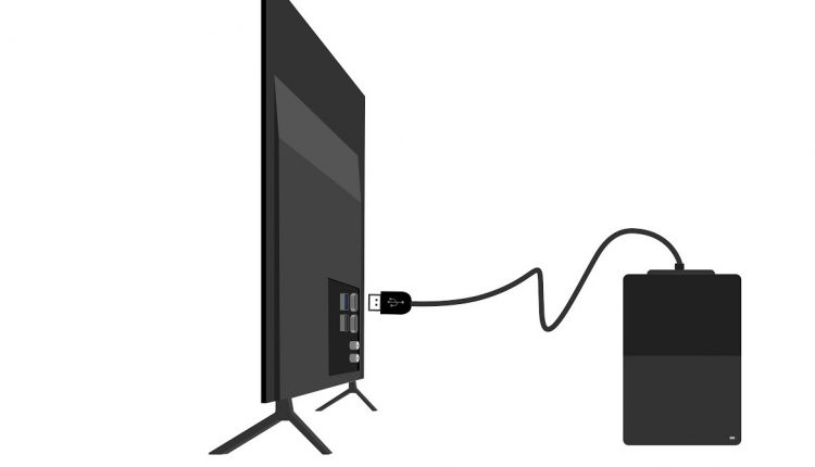 اتصال هارد اکسترنال به تلویزیون ال جی