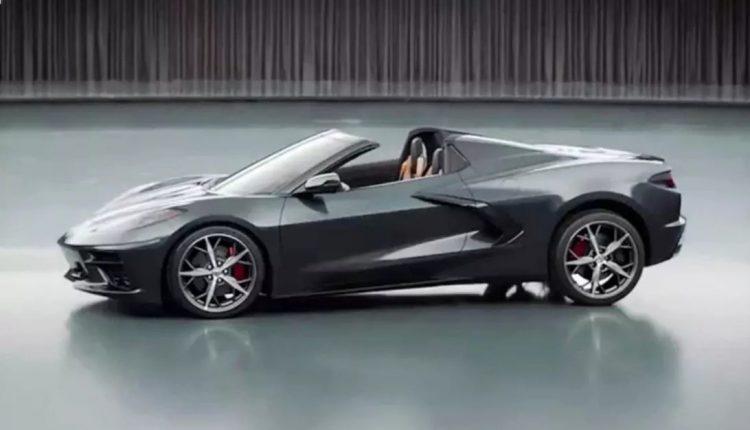 ماشین Chevy Corvette Stingray 2020