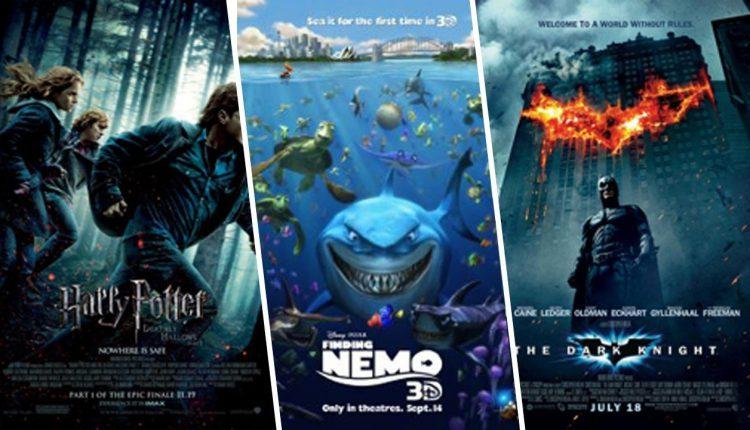 پرفروش ترین فیلم های تاریخ