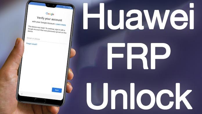 استفاده از ویژگی HUAWEI FRP REMOVAL