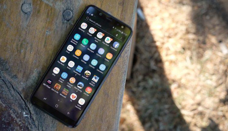 چک کردن کد IMEI در گوشی Galaxy A6 Plus