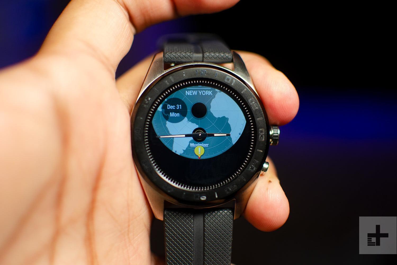 تخصصی مشخصات فنی ساعت ال جی Watch W7
