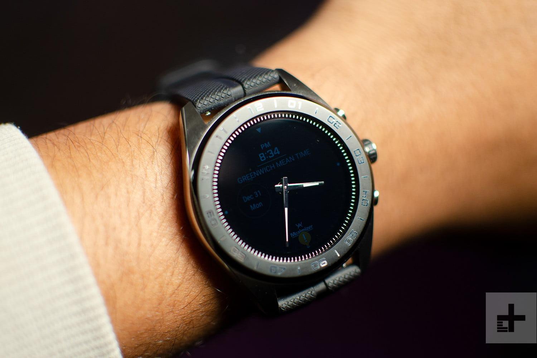 مشخصات فنی ساعت ال جی Watch W7