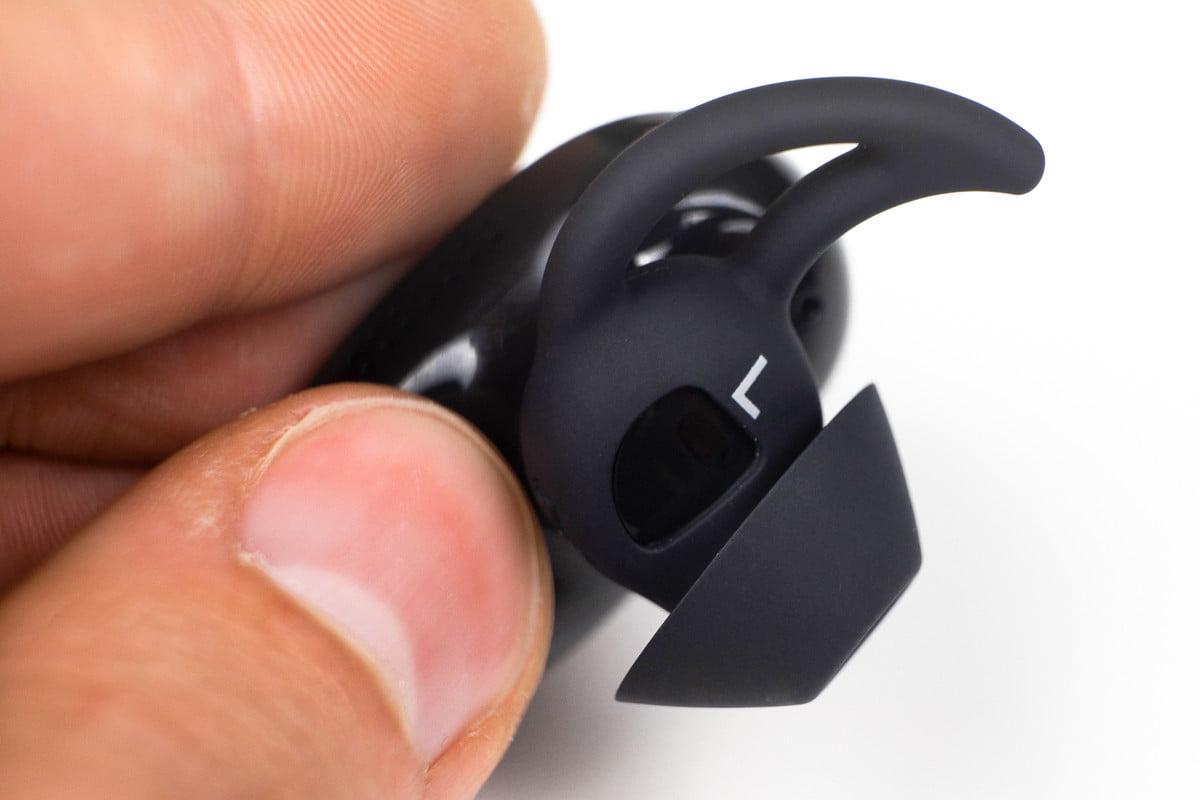 راحتی و قرارگیری در گوش هدفون Bose Quite Comfort
